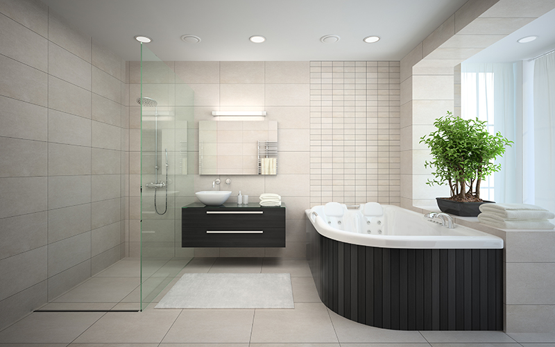 Bathroom renovations melbourne eastern suburbs for Salle de bain avec jacuzzi